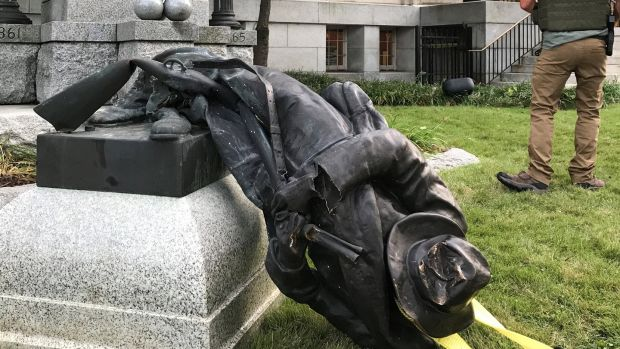 Duke University removes contentious Confederate statue after vandalism