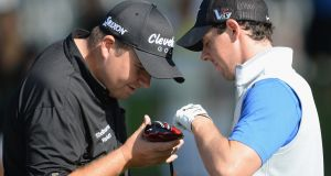 Rory McIlroy and Shane Lowry have had frustrating seasons. Photograph: Getty Images