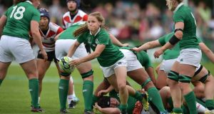 Nicole Cronin in action against Japan last weekend. Photograph:  Charles McQuillan/Getty Images