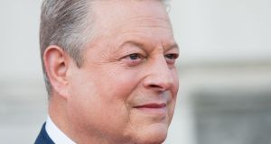 Al Gore attends the UK premiere of  'An Inconvenient Sequel: Truth to Power' at  Somerset House in London earlier this month.  Photograph:  Jeff Spicer/Getty Images