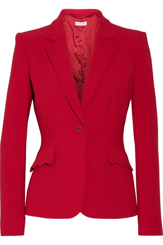 Set the world on fire in this Gromwell crepe blazer (€1,325) from Altuzarra