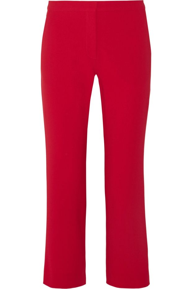 Nettle crepe flared pants (€450) from Altuzarra.