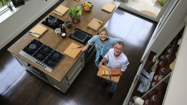 "Kevin and Muriel Thornton will teach the classes in their kitchen. ""It looks like a home and that's the whole idea. I want people to be comfortable,"" says Muriel. Photograph: Nick Bradshaw"