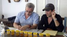 Grigory Rodchenkov and Brian Fogel in the Netflix documentary Icarus.