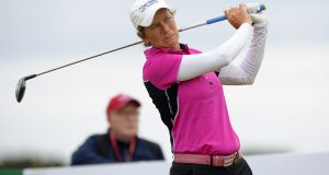 Scotland's Catriona Matthew will replace the injured Suzann Pettersen in the European Solheim Cup team. Photograph: Andy Buchanan/AFP/Getty Images