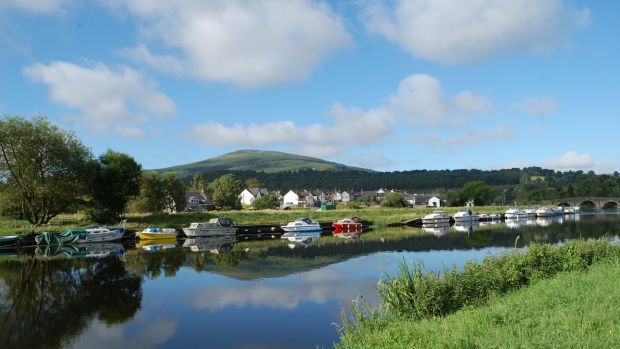 Graiguenamanagh, Co Kilkenny. A perfect stop off for a trip a down the Barrow.