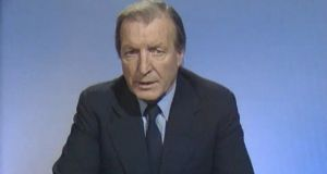 Charles Haughey: back in 1962, when he was minister for justice, he charged the Interdepartmental Committee on the Prevention and Treatment of Offenders with investigating the links between parentally deprived children and repeat offences.  Photograph: RTÉ screen grab.