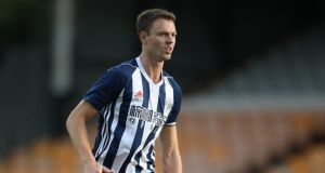 Manchester City manager Pep Guardiola is targeting West Brom defender Jonny Evans to strengthen his defensive options. Photograph: PA
