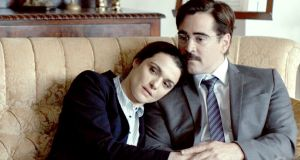 Rachel Weisz and Colin Farrell in Yorgos Lanthimos's black comedy The Lobster where people have 45 days to find love