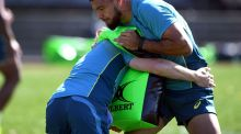 Micheal Cheika has backed Curtis Rona by naming him to start against New Zealand. Photograph: Getty Images