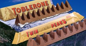Poundland was initially  forced to delay the launch of its Twin Peaks bar, which has two humps rather than the single peaks of Toblerone