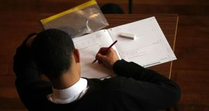 Girls outperformed boys across the spectrum of grades in the North this year. Photograph: David Davies/PA Wire
