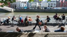 Dublin's Liffey boardwalk: 'It could explode in a second'