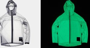 The solar-powered jacket is lightweight, compact and waterproof