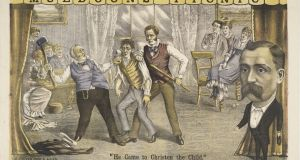 'Muldoon's Picnic' refers to a popular 19th-century New York vaudeville act