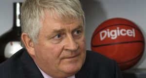 Digicel Chairman Denis O'Brien: accused web giants of peddling fake news and threatening the future of newspapers. Photograph: Swoan Parker/Reuters