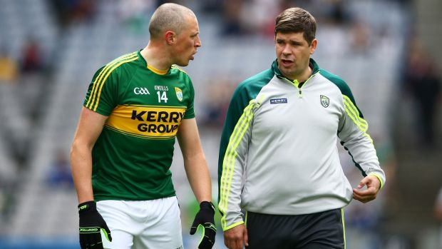 Donaghy's good relationship with Eamon Fitzmaurice has ease his return to the Kerry side. Photograph: Cathal Noonan/Inpho