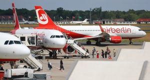 Air Berlin filed for bankruptcy protection on Tuesday after shareholder Etihad Airways withdrew funding. Photograph: Reuters