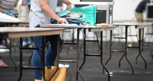 Marked Leaving Cert exam scripts will be available to view on September 1st and 2nd. File photograph: Dara Mac Dónaill/The Irish Times