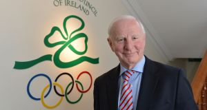 Pat Hickey, former president of the Olympic Council of Ireland:  his arrangement with the THG/Pro10 ticket resale companies has impacted on Irish athletes looking towards the Tokyo games in 2020. Photograph: Alan Betson