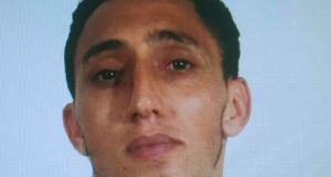 A handout photo made available by Spanish National Police shows Maghrebi Driss Oukabir, alleged to have rented the van which was used to crashed into pedestrians in Las Ramblas, downtown Barcelona, Spain. Photograph: EPA/Spanish National Police