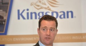 Kingspan chief executive Gene Murtagh. Photograph: Cyril Byrne/The Irish Times