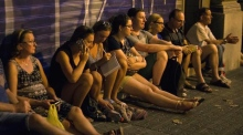 Barcelona eyewitness: 'The small white van was moving like a zig zag'
