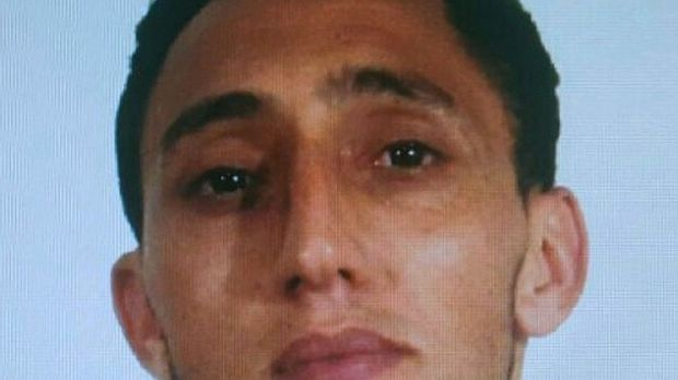 A handout picture provided by the Spanish National Police showing Moroccan Driss Oukabir, alleged suspect linked to the attack in Barcelona. Photograph: Getty