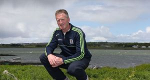 Tony Keady at Oranmore in May 2015. Photograph: Joe O'Shaughnessy