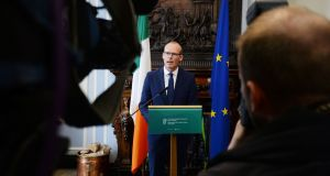 Simon Coveney has said the threat of an attack in Ireland similar to the atrocity in Barcelona remains possible but unlikely. Photograph: Alan Betson/The Irish Times