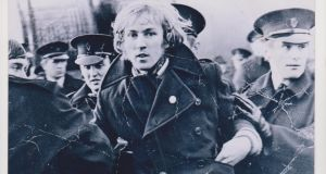 Eoin Sweeney: as captured in the  front page photograph of The Irish Times on January 5th, 1969