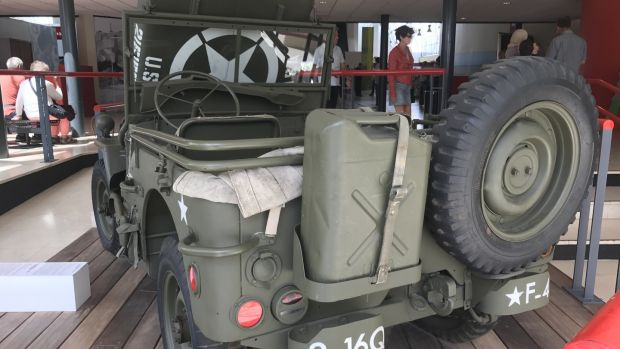 Willys Jeep: original 1941 Jeep is tiny, un-armoured, vulnerable. Useful and dependable, true but terribly open to the elements and enemy fire