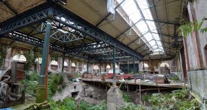 Inside the Iveagh Markets, Francis Street, in 2014. Photograph:  Dara Mac Dónaill