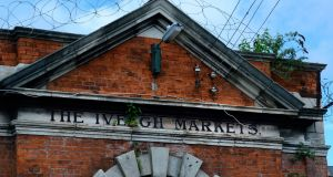 The Iveagh Markets site in the Liberties in  Dublin. Photograph: Cyril Byrne