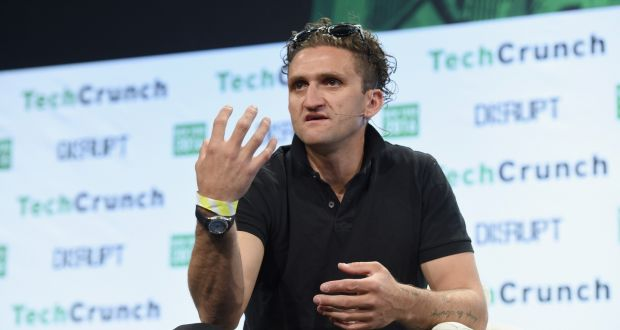 Casey Neistat: the video blogger  has more than seven million YouTube followers. Photograph: Noam Galai/Getty