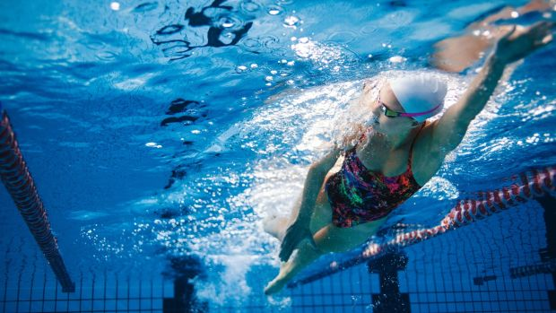 Swimming is a whole body workout, and is an excellent way to improve your fitnes
