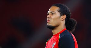 Virgil van Dijk: Chairman Ralph Kreuger said this week that the Southampton defender is going nowhere. Photograph: Adam Davy/PA Wire.