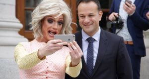 "From his @campaignforleo Twitter account: ""Pleased to launch @IrelandWeek this afternoon with @pantibliss, kicks off in Los Angeles this October."""