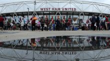 No wonder West Ham's opening games of last season were marred by infighting among home and rival supporters. Photograph:  Richard Heathcote/Getty Images