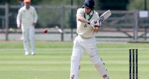 Ireland's William Porterfield top-scored for Ireland with 108 from 140 balls. Photograph: Inpho