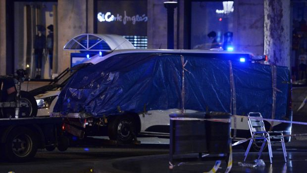 Spain suspects were in France before attacks