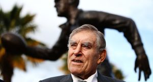 Colin Meads has died aged 81. Photograph: Hannah Peters/Getty