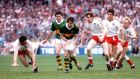 Tyrone lose to Kerry in the 1986 All Ireland Final. Will things be any different against Dublin on Sunday? Photograph: Billy Stickland/Inpho