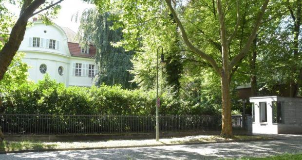 Villa Dahlem german president s villa remains haunted by its past