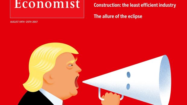 "Dubliner Jon Berkeley's latest ""Economist"" illustration: ""I have certainly have had more reaction to this cover than anything I've done before,"" he says"
