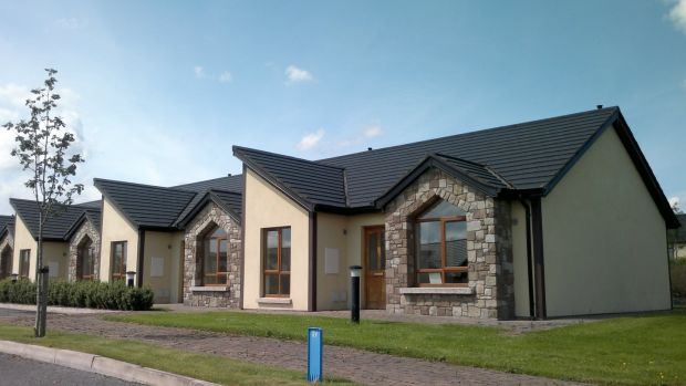 Some of the more than 500 new homes provided by Tuath Housing association in 2017. The houses pictured here are in Cavan.