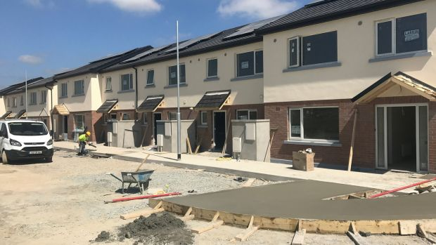 Some of the more than 500 new homes provided by Tuath Housing association in 2017. The house pictured here are in Drogheda, Co Louth.