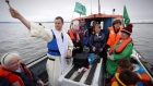 Blessing of the Bay takes place in Galway