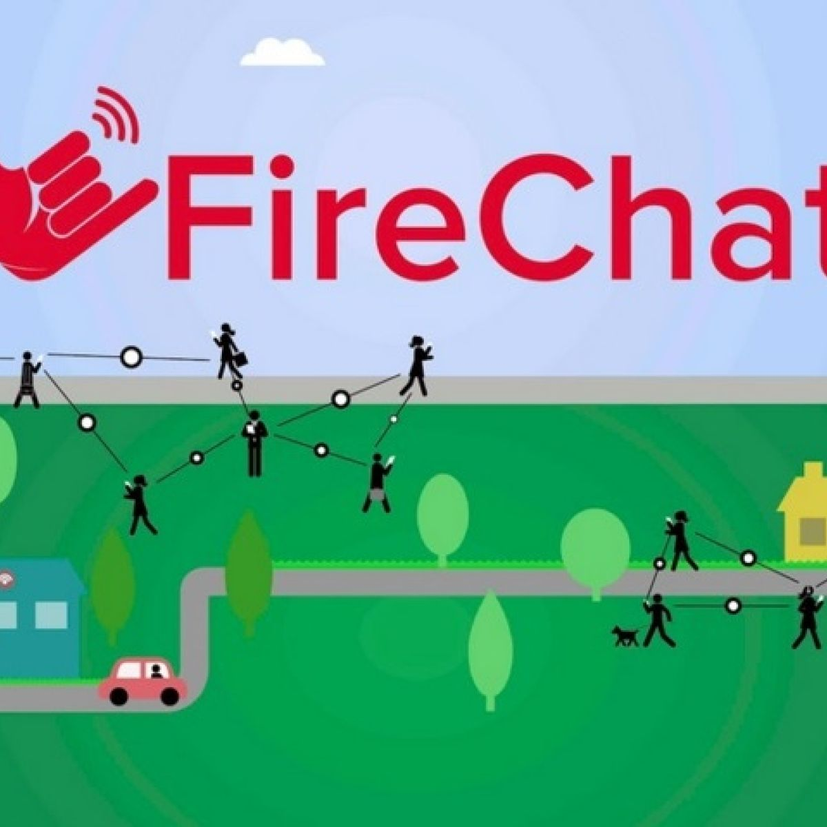 Keep in touch at Electric Picnic with FireChat