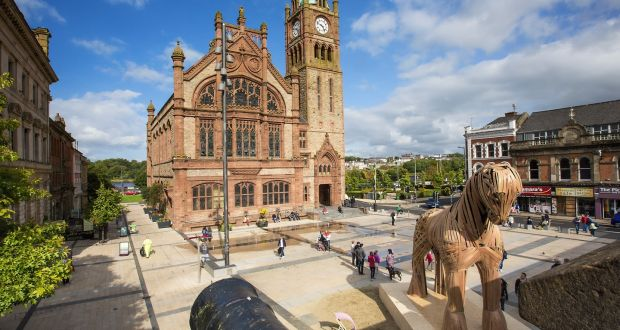 What's the secret behind Derry's mare in the square?